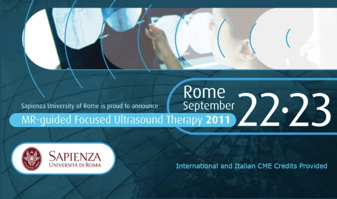 1st European Symposium on Focused Ultrasound Therapy