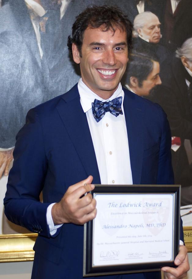 Premio Harvard University per l'innovativa terapia delle metastasi ossee non vertebrali
